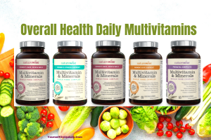 Overall health daily multivitamins by emmarie