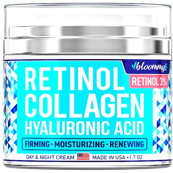 Retinol Collagen day and night cream yourself on update